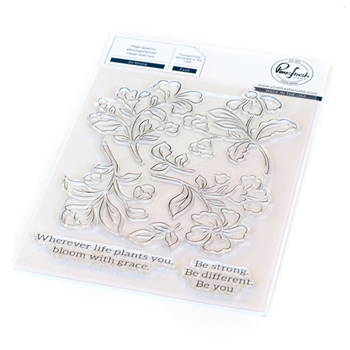 PinkFresh Studio BE STRONG Clear Stamp Set 112821