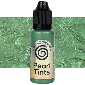 Cosmic Shimmer RACING GREEN Pearl Tints csptrac