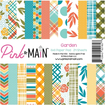 Pink and Main GARDEN 6 x 6 Paper Pack PMP058