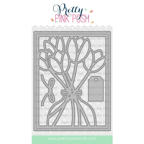 Pretty Pink Posh TULIP COVER PLATE Die  Preview Image