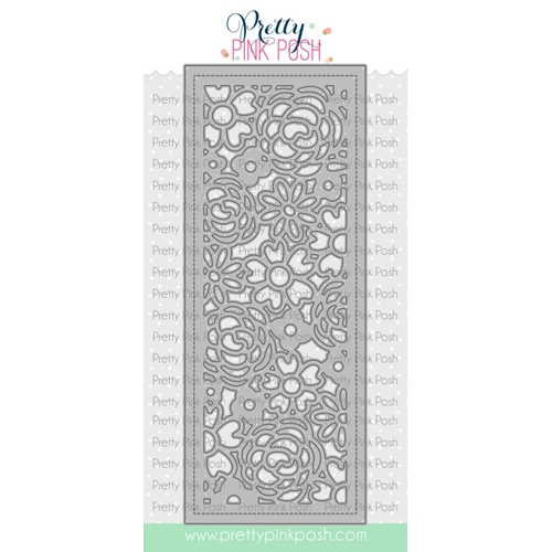 Pretty Pink Posh SLIMLINE FLORAL COVER Die  Preview Image