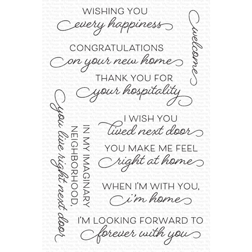 My Favorite Things RIGHT AT HOME Clear Stamps cs567 Preview Image