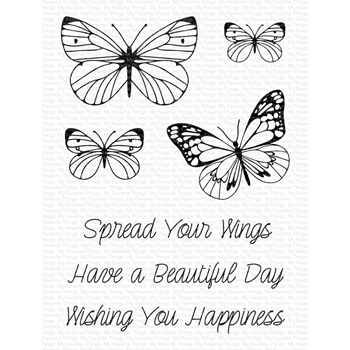 My Favorite Things SPREAD YOUR WINGS Clear Stamps cs569