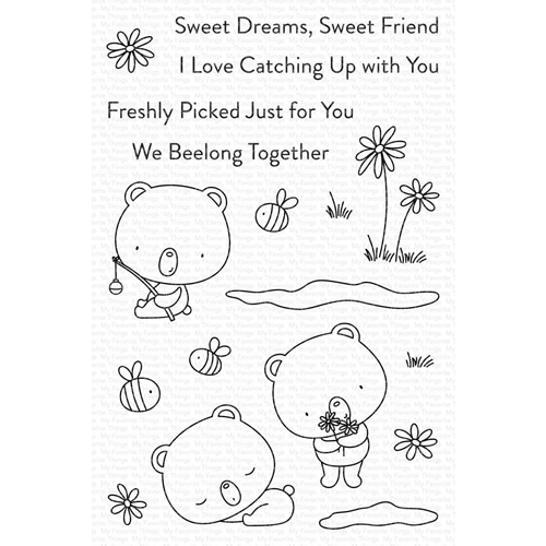 My Favorite Things WE BEELONG Clear Stamps cs565 Preview Image