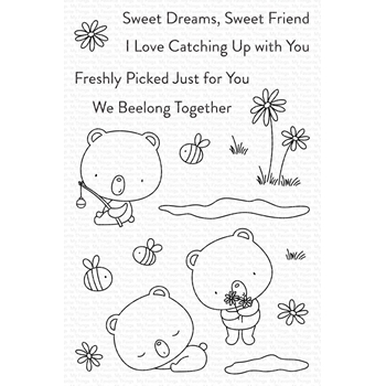 My Favorite Things WE BEELONG Clear Stamps cs565