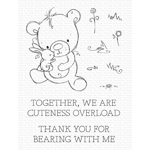 My Favorite Things CUTENESS OVERLOAD Clear Stamps ram-012 Preview Image