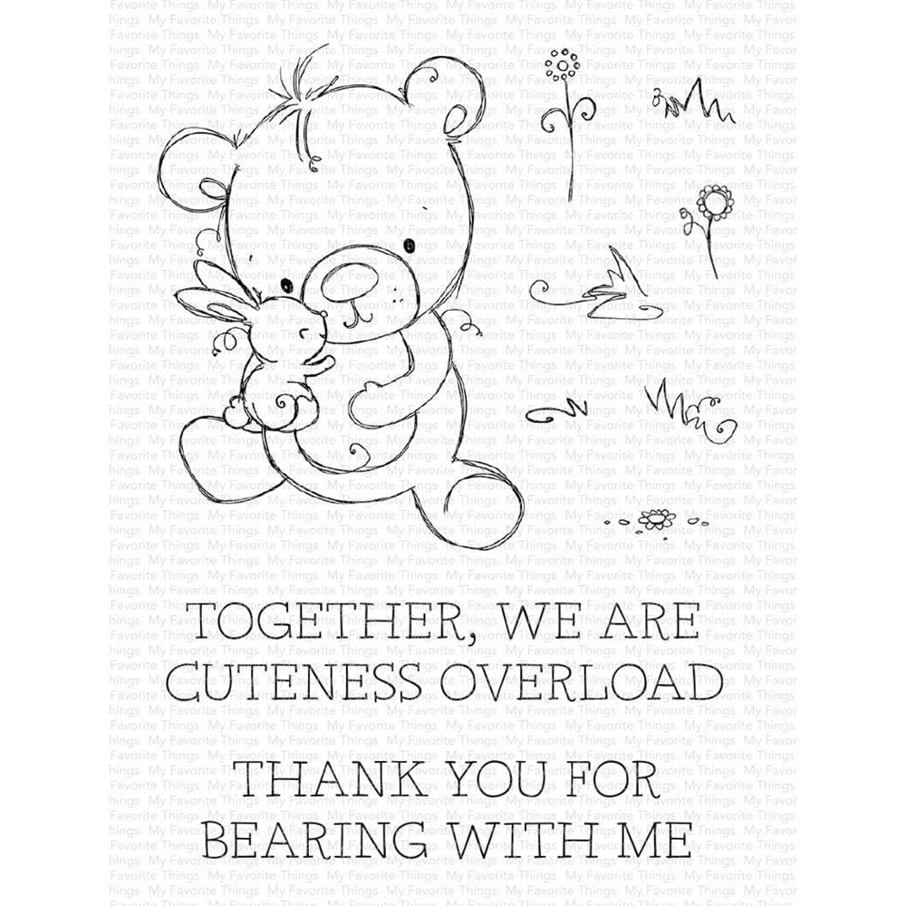 My Favorite Things CUTENESS OVERLOAD Clear Stamps ram-012 zoom image