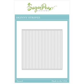SugarPea Designs SKINNY STRIPES Stencil spd00525