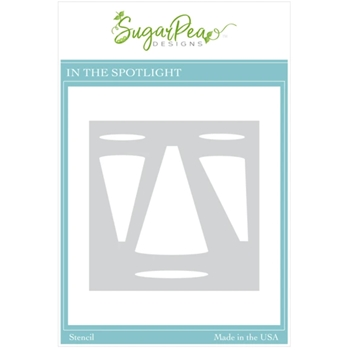 SugarPea Designs IN THE SPOTLIGHT Stencil spd00522