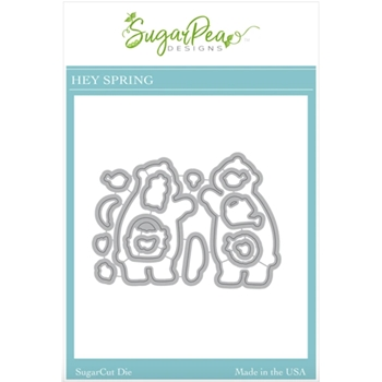 SugarPea Designs HEY SPRING SugarCuts Dies spd00516