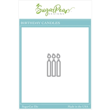 SugarPea Designs BIRTHDAY CANDLES SugarCuts Dies spd00513