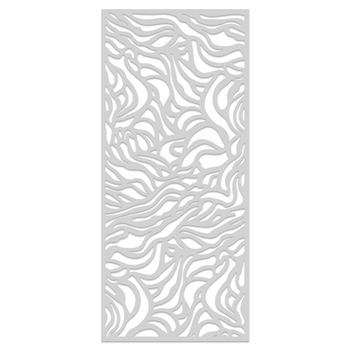 Hero Arts WATER FLOW Slimline Stencil SA167