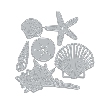 Hero Arts Fancy Cuts Dies SEASHELLS DI899