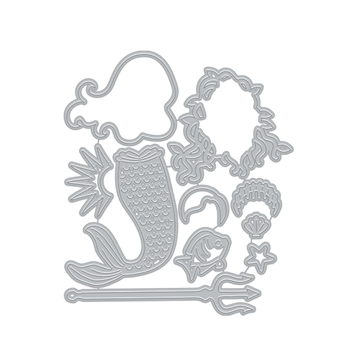 Hero Arts Fancy Cuts Dies LIFESTYLE MERMAID DI897