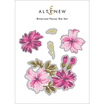 Altenew BITTERROOT FLOWER Dies ALT6112