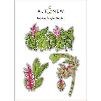Altenew TROPICAL JUNGLE Dies ALT6109
