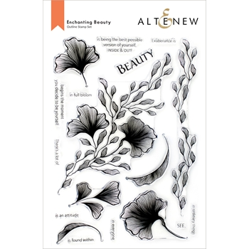 Altenew ENCHANTING BEAUTY Clear Stamps ALT6097