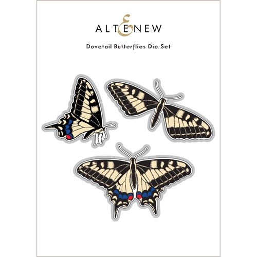 Altenew DOVETAIL BUTTERFLY Dies ALT6095 Preview Image