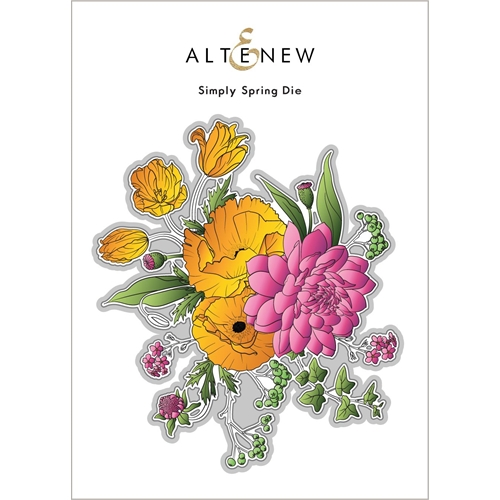 Altenew SIMPLY SPRING Dies ALT6091 Preview Image