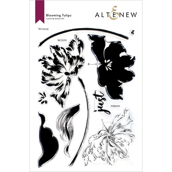 Altenew BLOOMING TULIPS Clear Stamps ALT6087