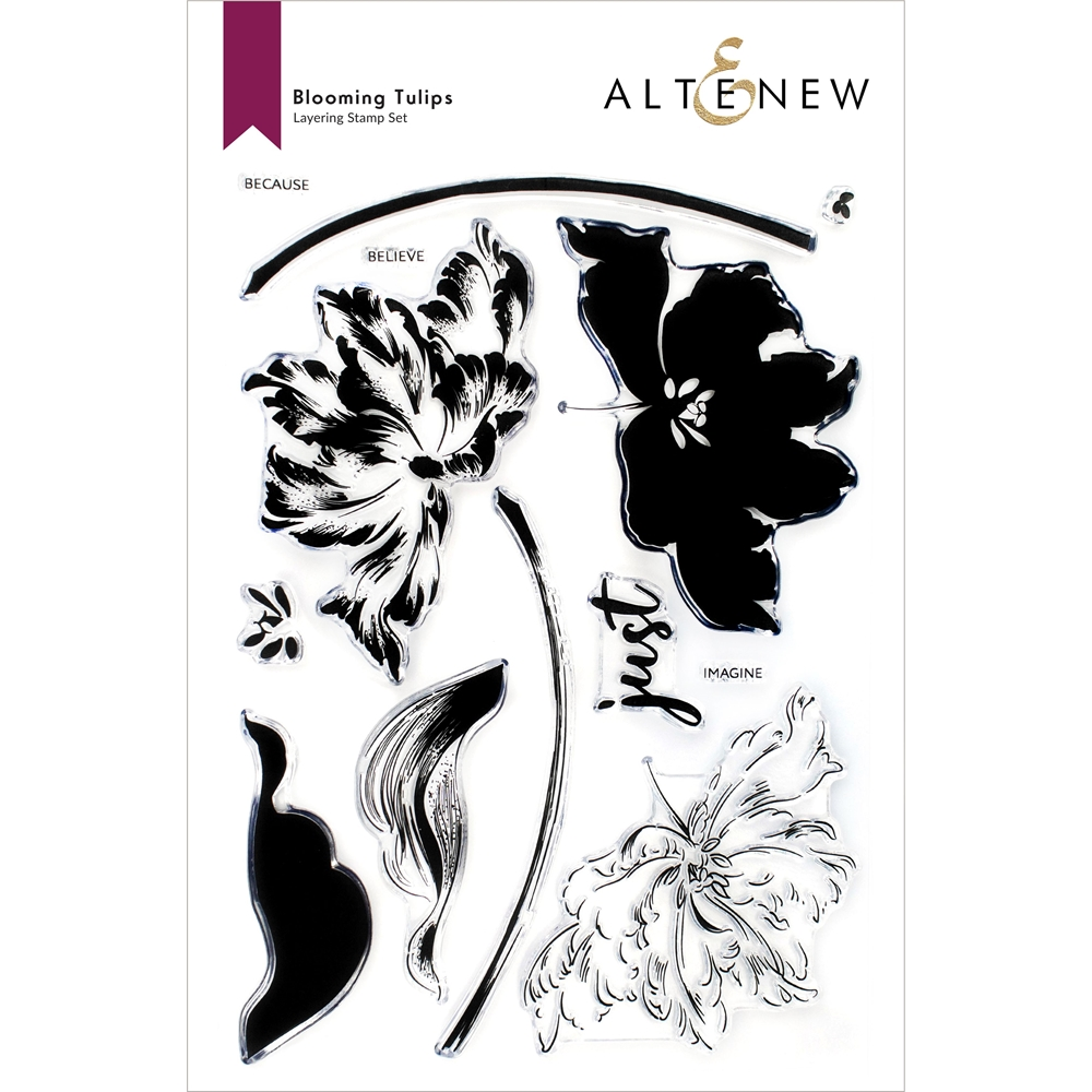 Altenew BLOOMING TULIPS Clear Stamps ALT6087 zoom image