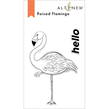 Altenew POISED FLAMINGO Clear Stamps ALT6071