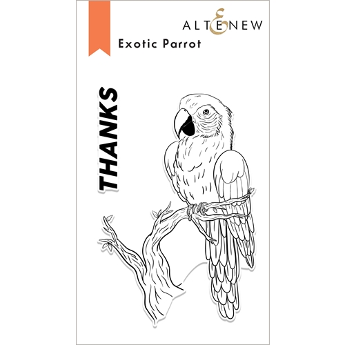 Altenew EXOTIC PARROT Clear Stamps ALT6068 Preview Image