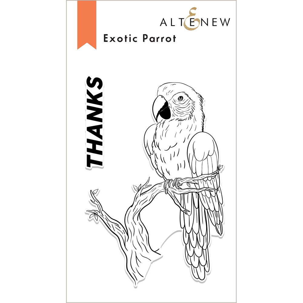 Altenew EXOTIC PARROT Clear Stamps ALT6068 zoom image