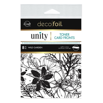 Therm O Web Unity WILD GARDEN DecoFoil Toner Card Fronts 19074