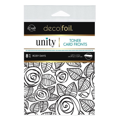 Therm O Web Unity ROSY DAYS DecoFoil Toner Card Fronts 19075 Preview Image