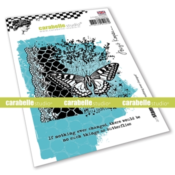 Carabelle Studio IF NOTHING EVER CHANGED Cling Stamps sa60543e*