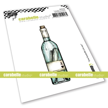 Carabelle Studio UNE BOUTEILLE A LA MER Cling Stamp sa70178