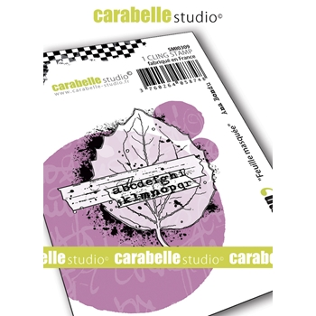 Carabelle Studio FEUILLE MASQUEE Cling Stamp smi0309