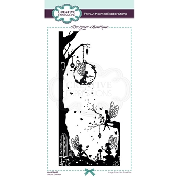 Creative Expressions SECRET GARDEN Cling Stamp umsdb057