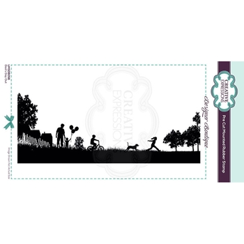 Creative Expressions DAD'S DAY OUT Cling Stamp umsdb058