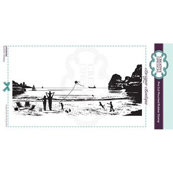 Creative Expressions SUMMER HOLIDAYS Cling Stamp umsdb059