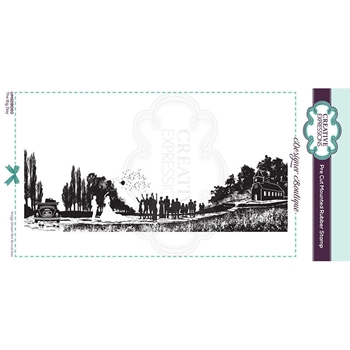 Creative Expressions THE BIG DAY Cling Stamp umsdb060
