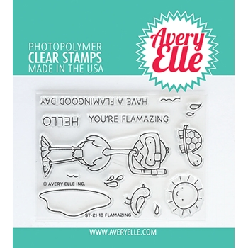 Avery Elle Clear Stamps FLAMAZING ST 21 19