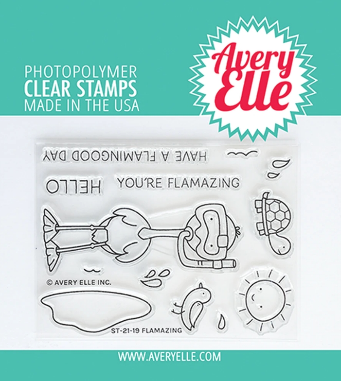Avery Elle Clear Stamps FLAMAZING ST 21 19 zoom image