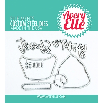 Avery Elle Steel Dies LAYERED CUPCAKE D 21 26