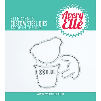 Avery Elle Steel Dies LAYERED ICE CREAM D 21 25