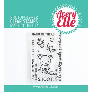 Avery Elle Clear Stamps LIFE ST 21 18
