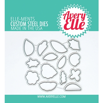 Avery Elle Steel Dies LOVELY D 21 15
