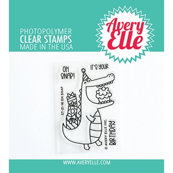 Avery Elle Clear Stamps OH SNAP ST 21 16