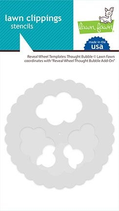 Lawn Fawn THOUGHT BUBBLE Reveal Wheel Templates lf2568 Preview Image