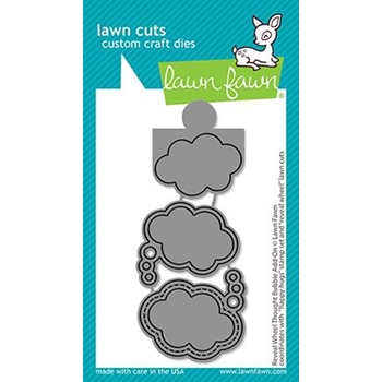 Lawn Fawn REVEAL WHEEL THOUGHT BUBBLE ADD-ON Custom Craft Dies lf2567