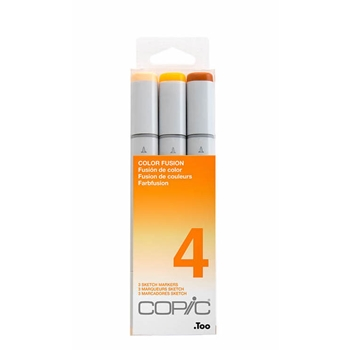 Copic Sketch COLOR FUSION SET 4 cmscf4