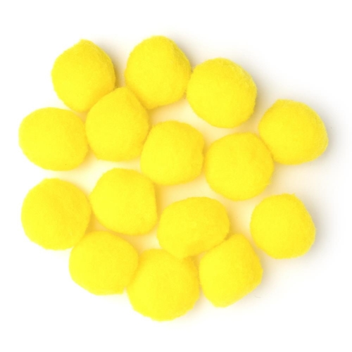 Darice YELLOW 1.5 INCH Craft Pom Poms 10178-34 Preview Image