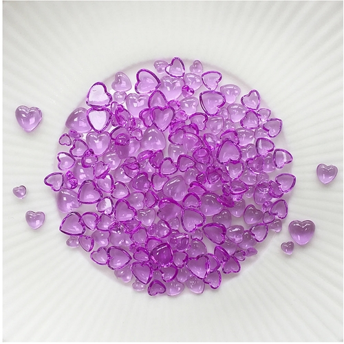 Little Things From Lucy's Cards Droplets ORCHID HEARTS LB376 Preview Image