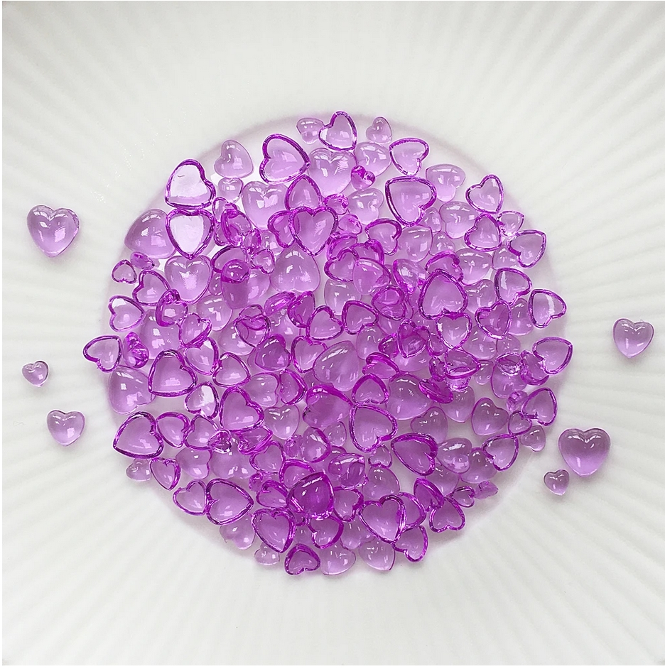 Little Things From Lucy's Cards Droplets ORCHID HEARTS LB376 zoom image